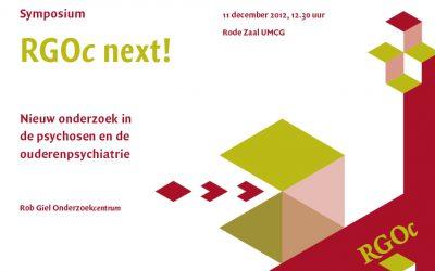 11 december 2012: Symposium RGOc next!