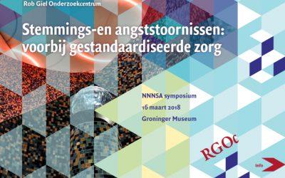 16-03-2018: RGOc symposium NNNSA: Stemmings-en angststoornissen: voorbij gestandaardiseerde zorg