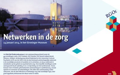 24 januari 2014:  Jaarlijkse studiedag Noord Nederlands Netwerk Stemmings- en Angststoornissen