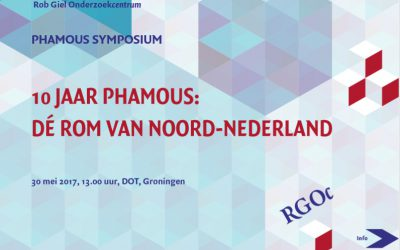 30-5-2017: Derde PHAMOUS symposium