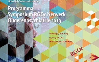 """7-5-2019: Studiedag Ouderenpsychiatrie """"Depressie-Plus: de vele kleuren van depressie bij ouderen"""